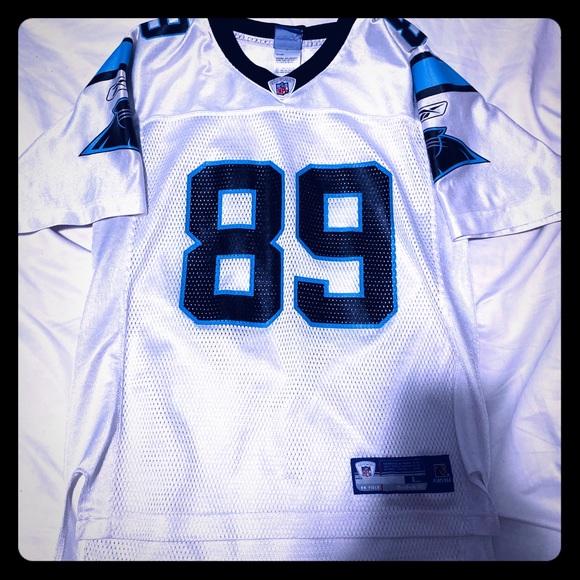 Carolina Panthers White Steve Smith